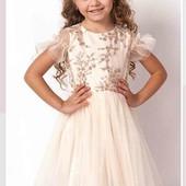 Нарядное пышное платье 116 см