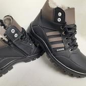 нові черевики зима 40-45р шт/ прошиті
