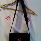 Фірменна сумка- кросбоді бренду Charles Jourdan вироб. Франція натур.шкіра + натур.замш ( сток )