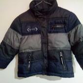 4года.Зимняя куртка Dunnes.Детская теплая куртка для мальчика.