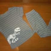 Пижама для мальчика, на 5-6лет ,на рост 110-116
