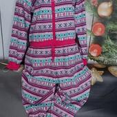 Вау! Тёпленький мягусенький слип, кигуруми, пижама размер 50/52