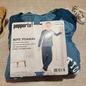 Германия!!! Суперовая пижама с флисовым штанами! Для мальчика, 122/128!