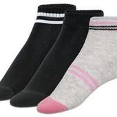 4 пары, спортивные носки от Crivit®, махровая стопа, р. 37-38.