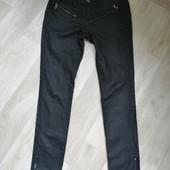 Фирменные  джинсы с напылением под кожу/скини /S-M!!!