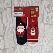 Махровые носки Lupilu 27-30 на 4-6лет Германия (2пары)