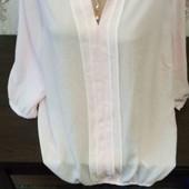 Большой размер Цвет розовый блузочка Бесплатная доставка свыше трёх ставок!смотрите мои лоты