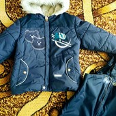 Зимний комплект Lenne. Куртка и комбинезон Lenne, р. 98 +
