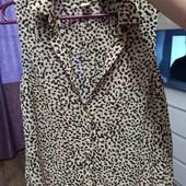 блуза леопардовая