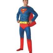 Новый костюм Superman Супермен р.М евро 48/50 Lidl