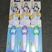 2 шт в лоте, зубные щетки для детей 3+