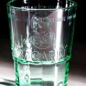 Брендовые стаканы(бокалы) мирового бренда Bacardi (290ml и 360ml). Новые!