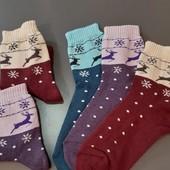 =Лот 3 пары=Можно докупить! Разные модели! Махровые женские носочки р.36-40.Отличное качество!