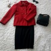 Красное пальто-пиджак George, классика, XS/S