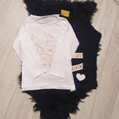 Z43.Лот 2 шт,футболки з довгими рукавами Pepperts 122/128