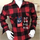 Теплая кашемировая рубашка в клетку. 2 цвета