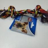 Канат узловой хлопковый 23 см. Trixie (Германия) игрушка для собак.