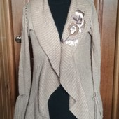 Фирменный теплющий модный кардиган Versace