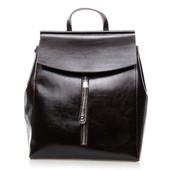 Стильный кожаный рюкзак- сумка от Alex Rai Цвет на выбор