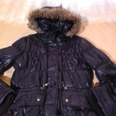 Классная детская куртка,состояние хорошее,цвет чорный,р.128-140,на 8-10 лет