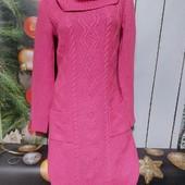 Вау! Шикарное тёплое платье размер S/M