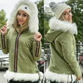 Куртка-парка с мехом