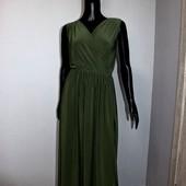 Качество! Красивое макси платье в новом состоянии
