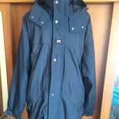 Куртка, термо ветровка, р. L, Helly Hansen. есть флисовая подстежка