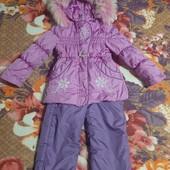 Курточка+комбез 3-4года