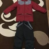 Зимний термо костюм детский куртка и полукомбинезон Perlim Pinpin 8 лет