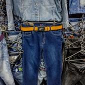 Новые стрейчевые джинсы, размер 32, пот 40 см, поб 48 см.