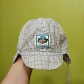 Дышащая кепочка на малыша 0-6мес.