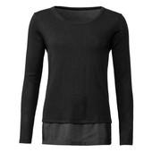 L25.Джемпер блуза обманка 2в1 esmara