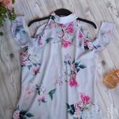 Шикарная блузка р-р 14