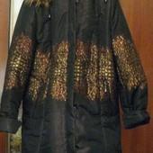Женская куртка отстёгивается и мех и капюшон