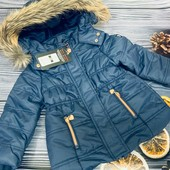 Зимняя курточка на девочку от Cool club р. 92 см