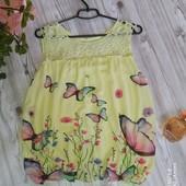 Красивая блуза р-р 48
