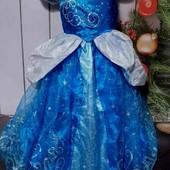 Вау! Невероятно красивое, пышное карнавальное платье на 12 лет