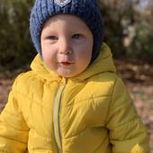 Фирменная LC Waikiki теплая курточка, для ребенка 1-2 года