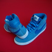 Кроссовки Nike Blazer High blue натур замша 38 разм