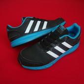 Кроссовки Adidas Black Blue оригинал 38 разм 24.5 cm