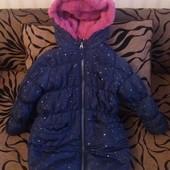 Пальто зима на 5 лет