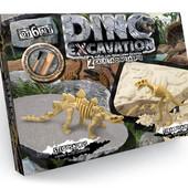 Набор для проведения раскопок Dino Excavation Динозаврыотличный подарок Данко тойс, много лотов