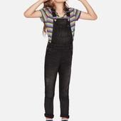 Кльовий джинсовий комбез на дівчинку, розмір 104, бренд lupilu германія.
