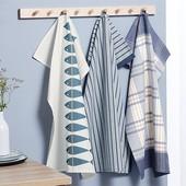 1 шт Шикарное кухонное полотенце из хлопка от Tchibo (Германия), размер: 50х70 см