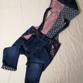 ЛоВиЛоТы! крутой джинсовый комбез на 3-5 лет
