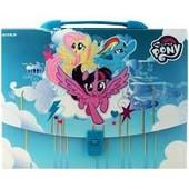 Готовим подарочки)Kite портфель-коробка My Little рonу