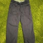 Штанишки H&M на хлопковой подкладке, 3-4 года, рост 98-104 см