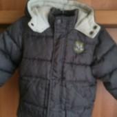 Куртка, еврозима, внутри флис, р. 18-24 месяцев 86 см. Kid Kanaї.