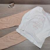 Германия!!! Коттоновая симпатичная пижамка для девочки! 98/104!